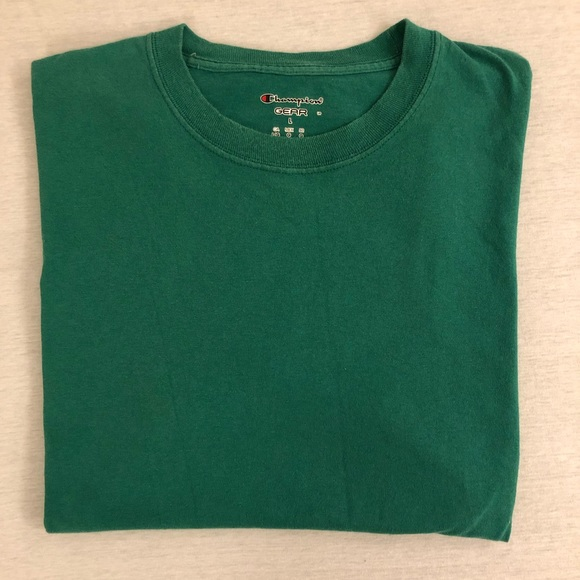 9f32a423 Champion Shirts | Green Tee | Poshmark